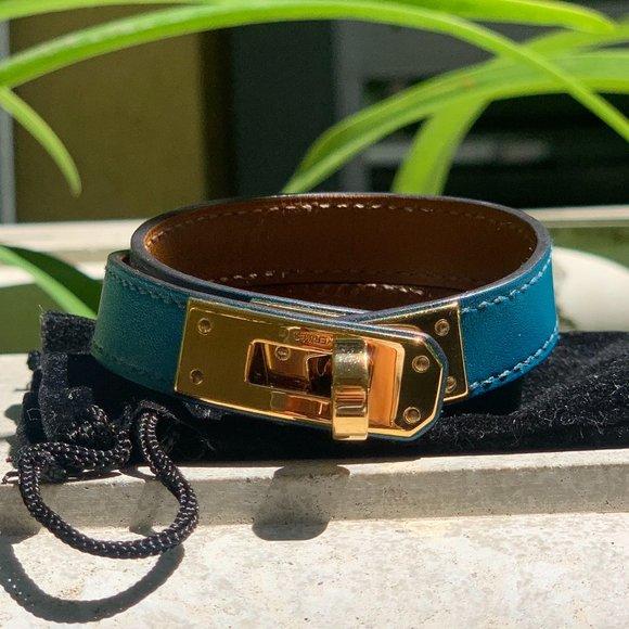 Hermes Kelly Double Tour' Bracelet